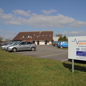 Parking and access at Quantock Vet Hospital