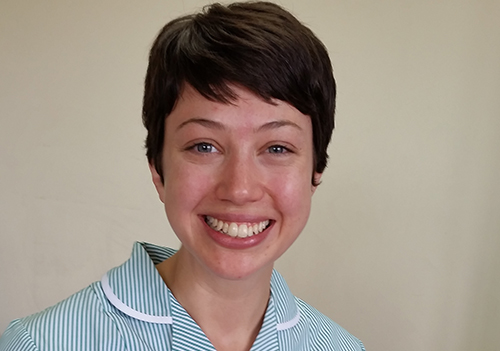 Cate Anstey - Trainee Veterinary Nurse at Quantock Veterinary Hospital