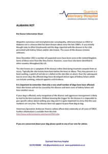 Alabama Rot information