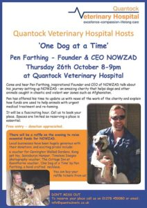 Nowzad Pen Farthing talks at QVH