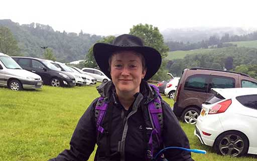 Vet Amy Haylock Quantock tackles the Cateran Yomp for charity