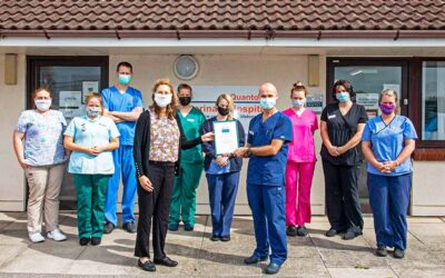 Quality standard award for Somerset vets assures top class care
